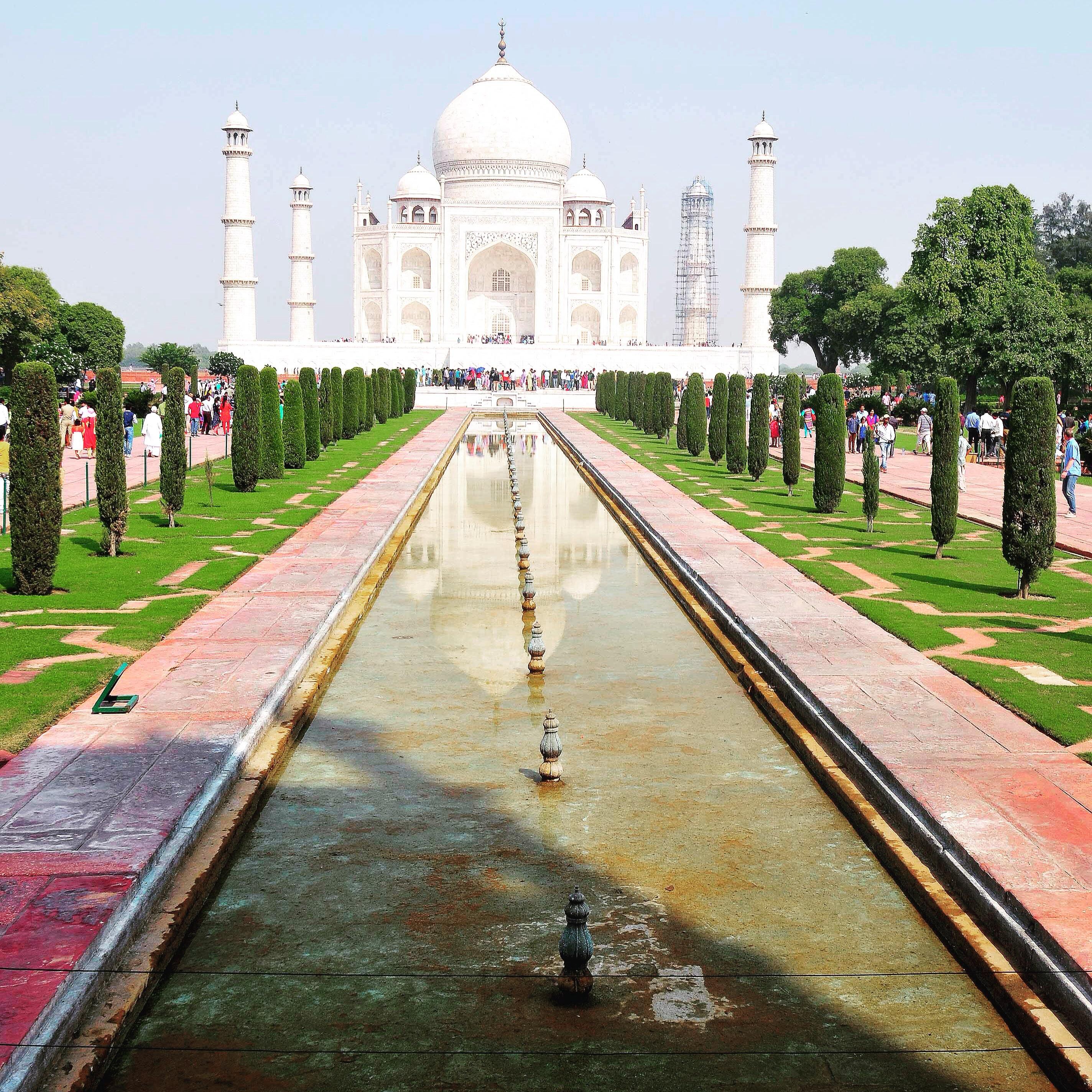 a very long and tiring week. Taj Mahal view Agra