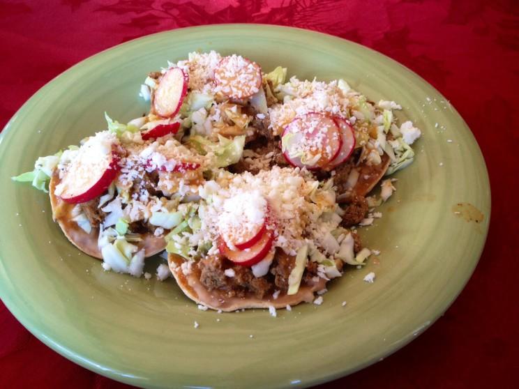 Mamita's homemade tacos...so yummy, l ate 5!!!! :-)