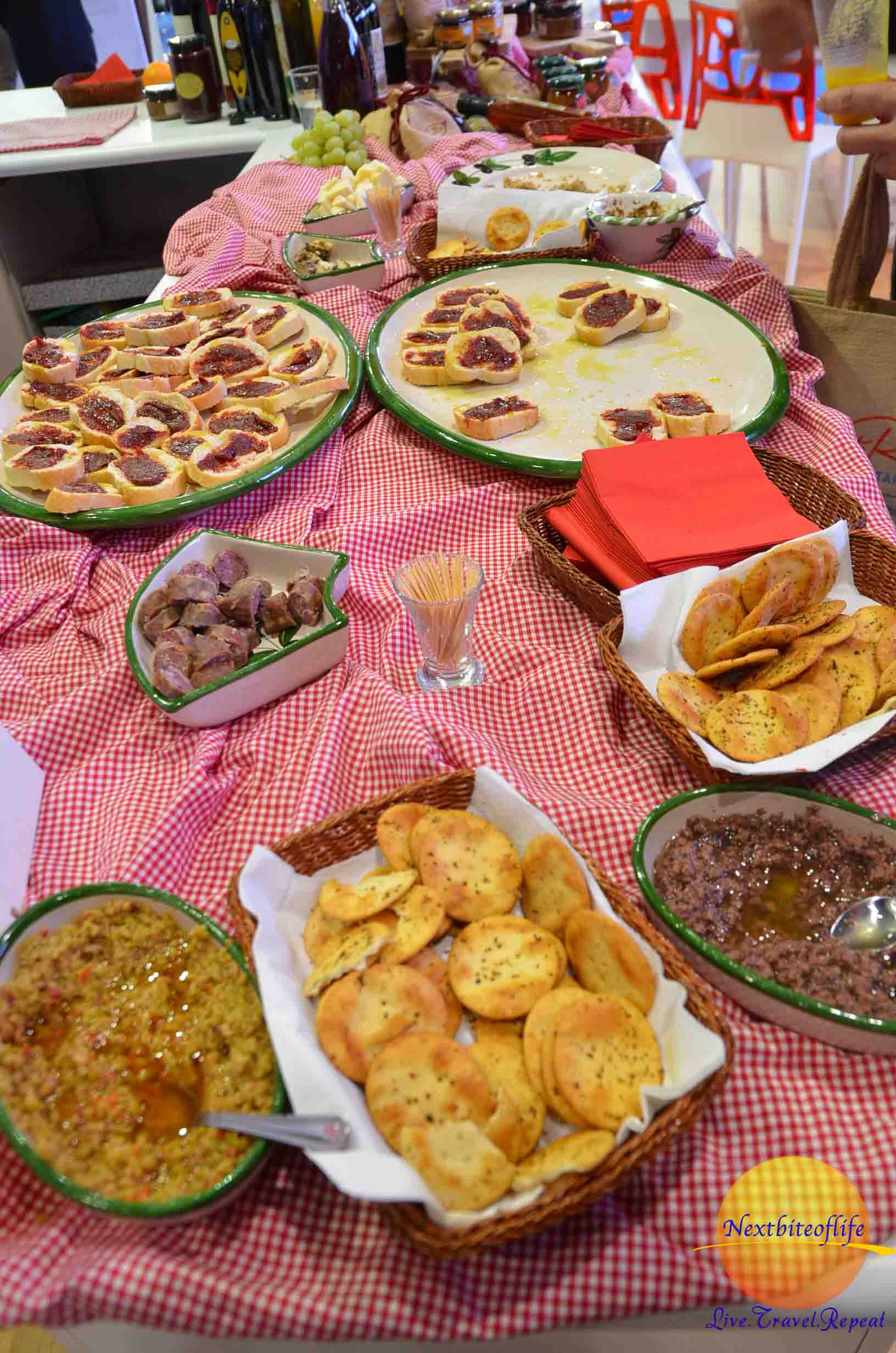 A Maltese spread! We sampled and had fun reminiscing about our year and half on the island.
