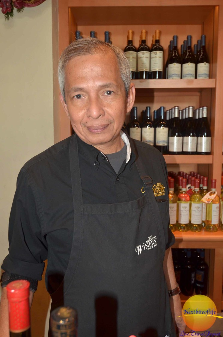 guide at san antonio winery