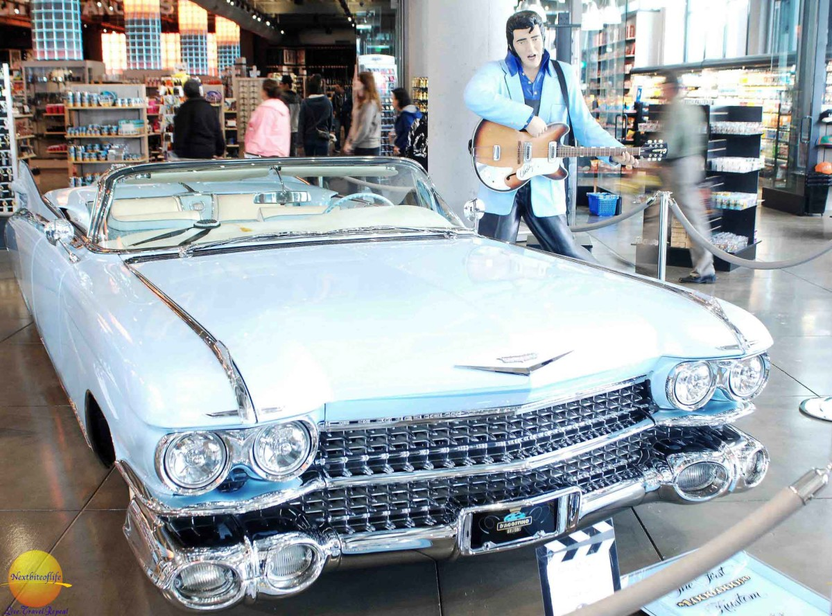elvis car and wax at cali swag store