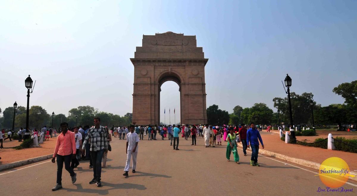 a day in new delhi india