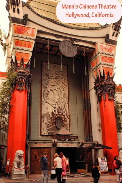 picture of mann's chinese theater in hollywood,los angeles