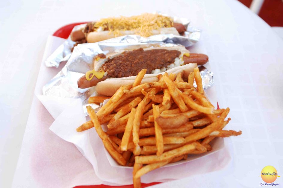 pink's hot dogs guadalajara and fries