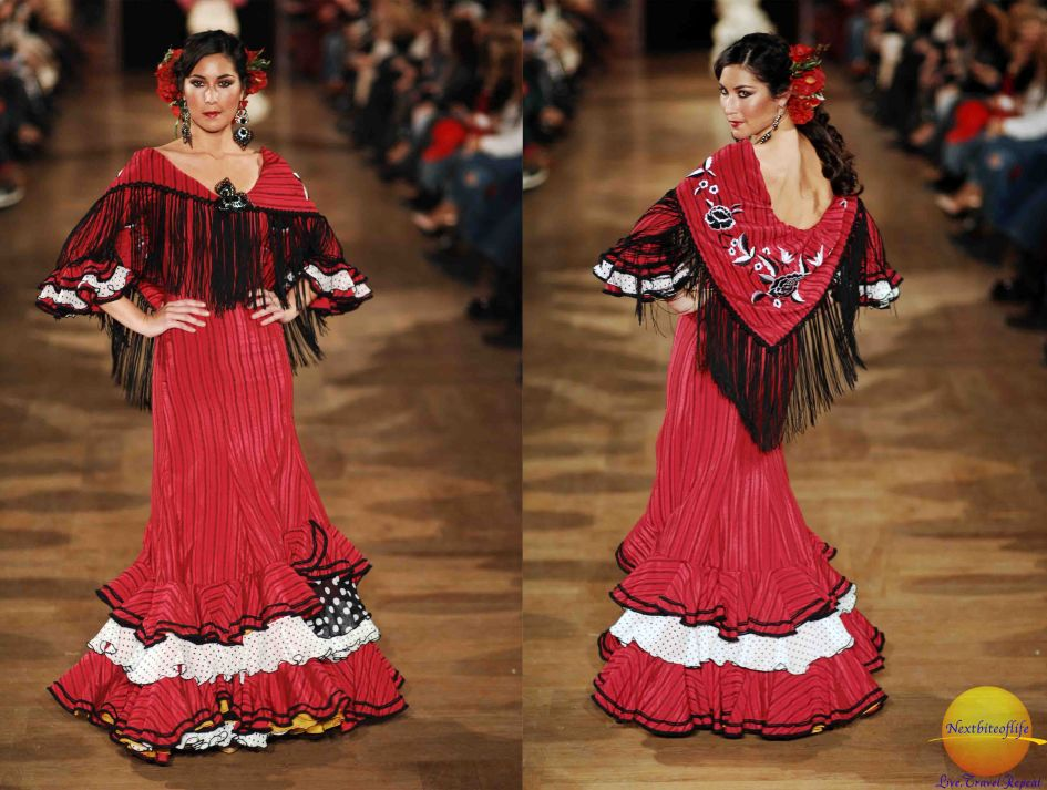 This is what l picture when l hear flamenco!
