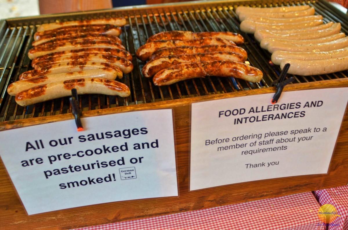 borough market sausages
