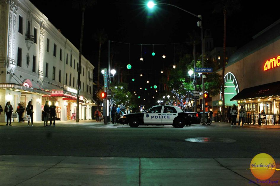 view of 3rd street promenade and arizona streets in santa monica los angeles
