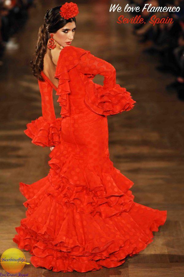 we love flamenco Seville #flamenco #runwayshow #flamencorunway #seville #andalusia