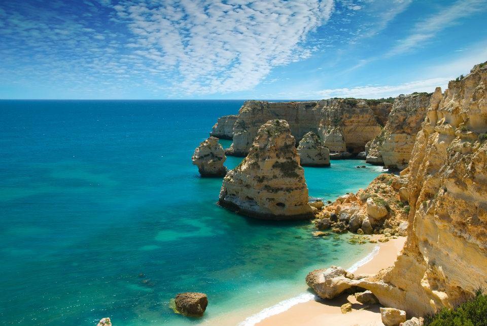 Wikipedia image of the Algarve region of Portugal.