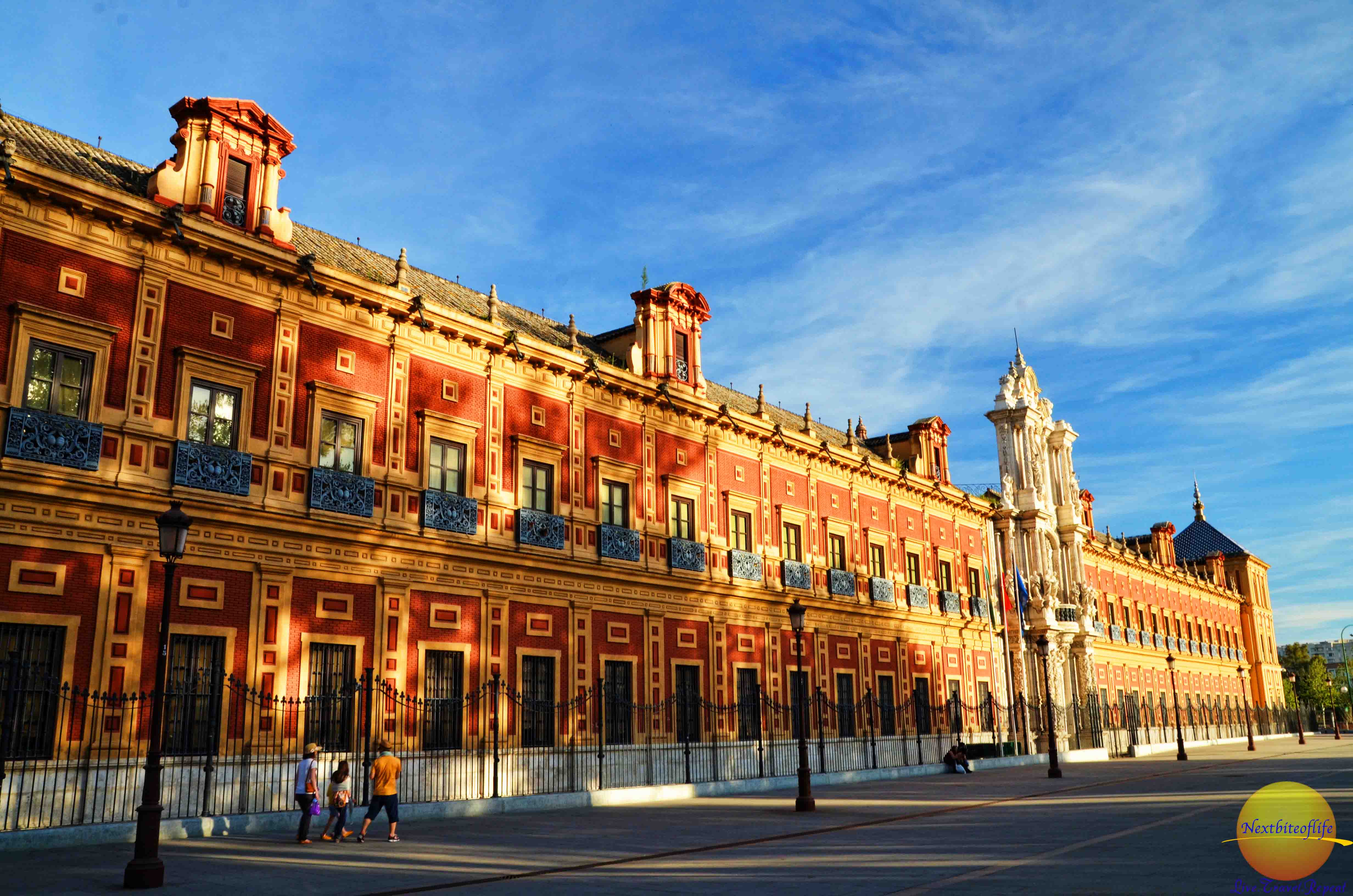 why we are staying in seville brick building