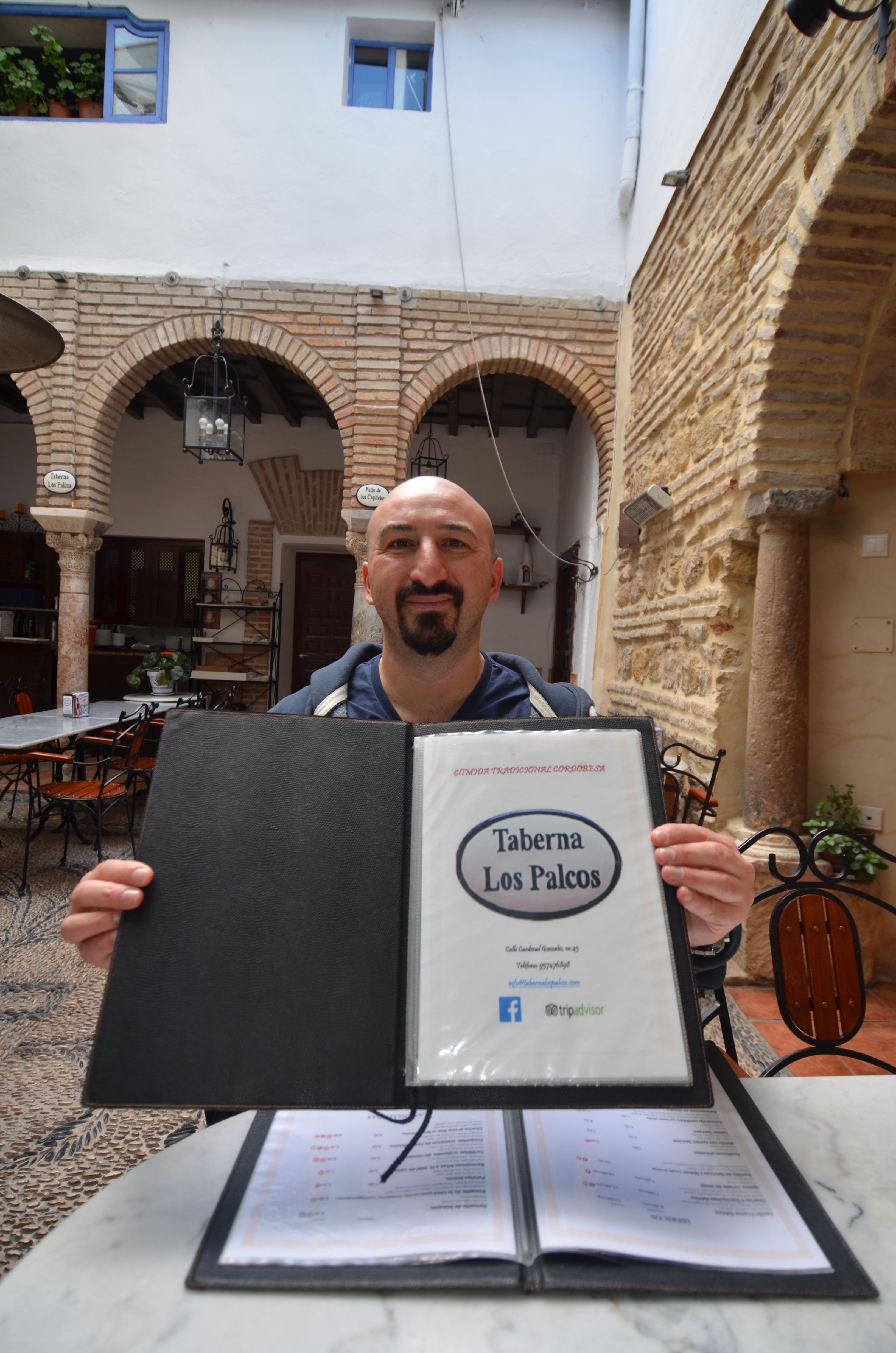 holding menu for tapas eatery cordoba