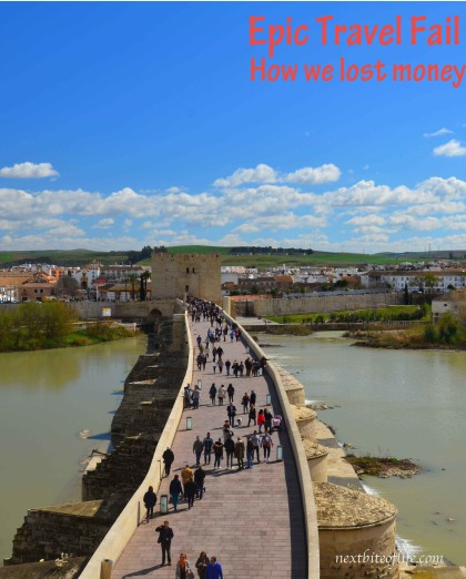 How we lost money #epictravelfail #travelfail #spaintravel