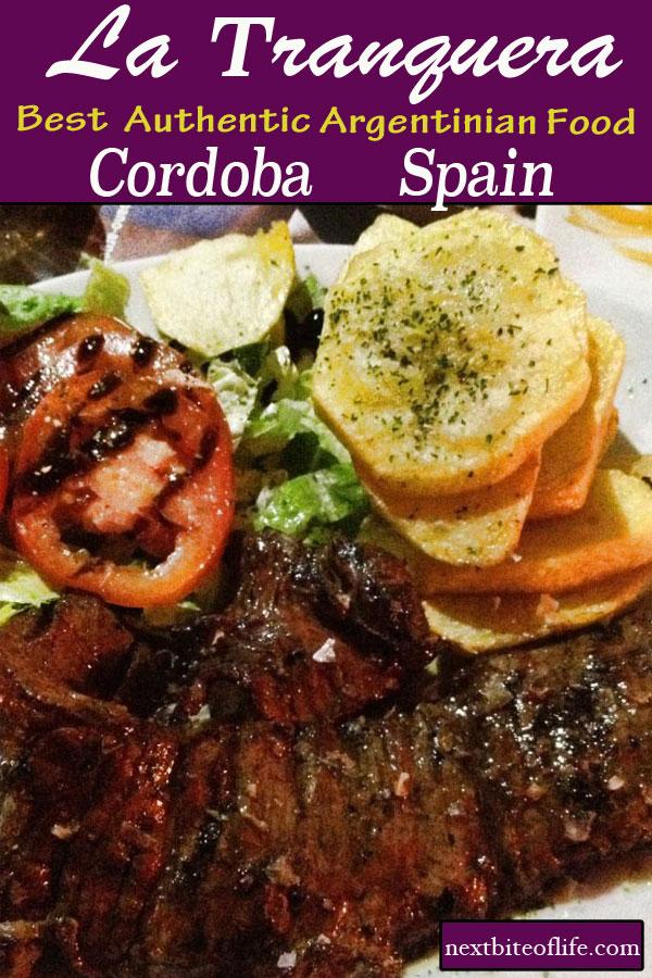 La Tranquera Argentinian restaurant #Cordoba #Spain #food #argentinianfood #andalusia #cordobarestaurant #visitcordoba