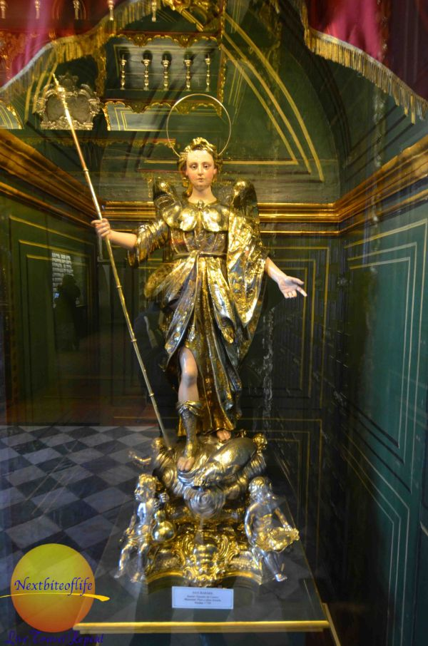 solid silver and gold angel la mezquita