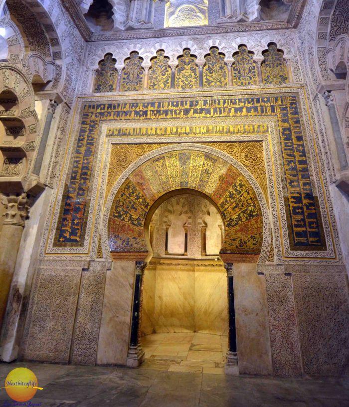 mihrab mezquita nextbiteoflife