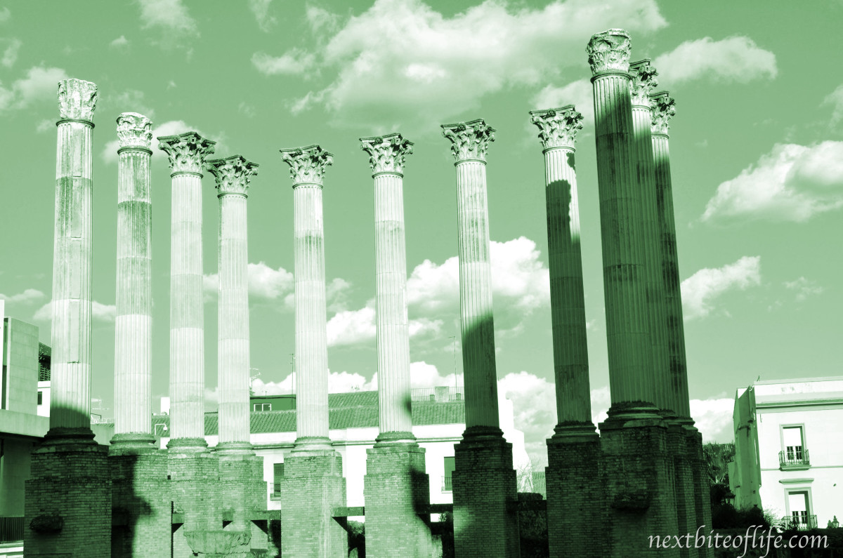 Cordoba Spain Roman Ruins