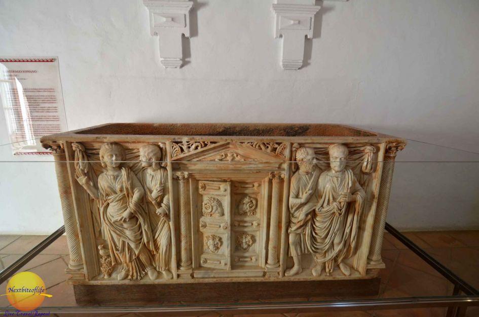 roman sarcophagus alcazar of cordoba