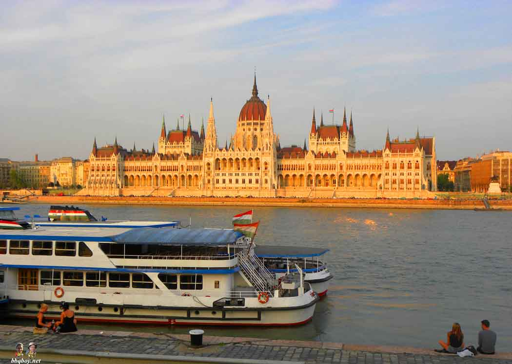 Budapest, another absolutely beautiful city that was their home.