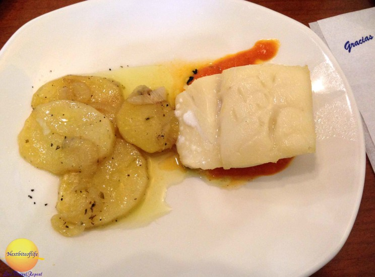 Bacalao, another favorite.