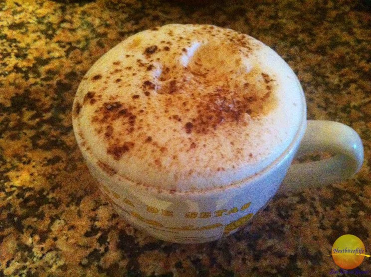 Our morning cappuccino makes us health ;-) .