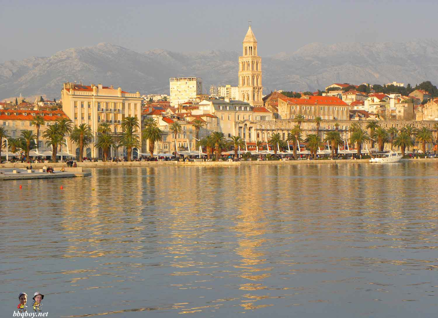 Split, Croatia. One of the places they have called home for a while.