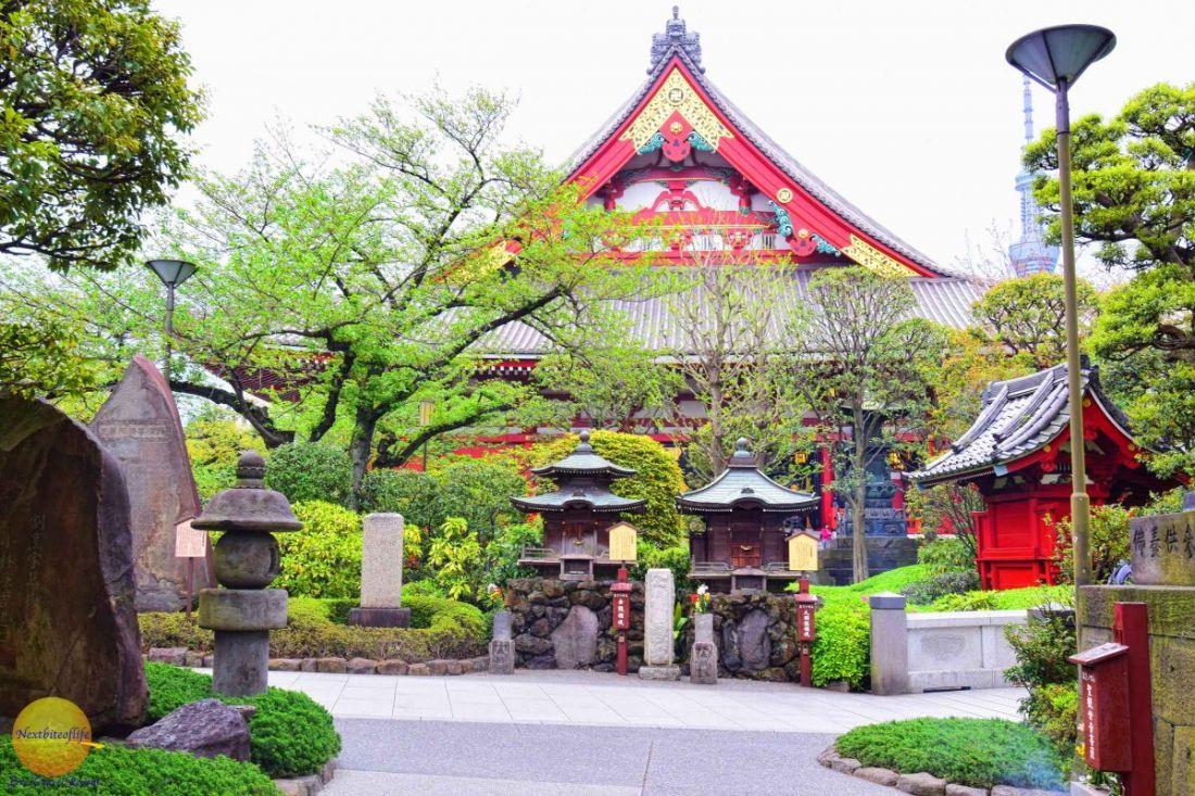 Sensoji Temple in Asakusa prefecture, Tokyo, Japan