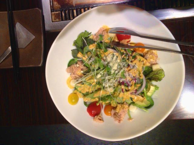foodies in japan tokyo salad