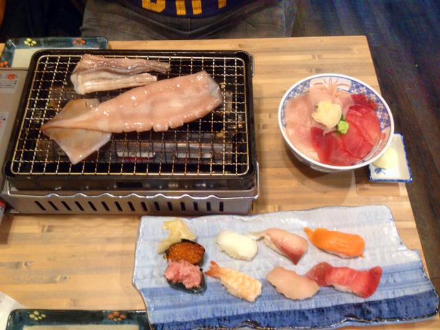 octopus grilling tokyo