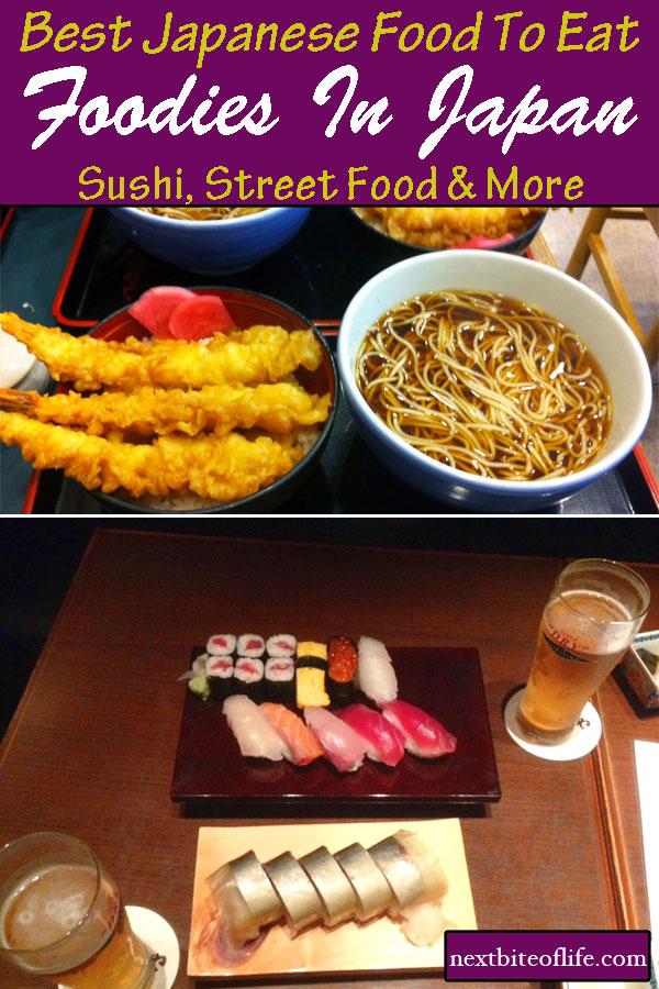 Foodies in Japan #foodguide #tokyo #kyoto #japanesefood #foodtokyo #sushi #streetfood