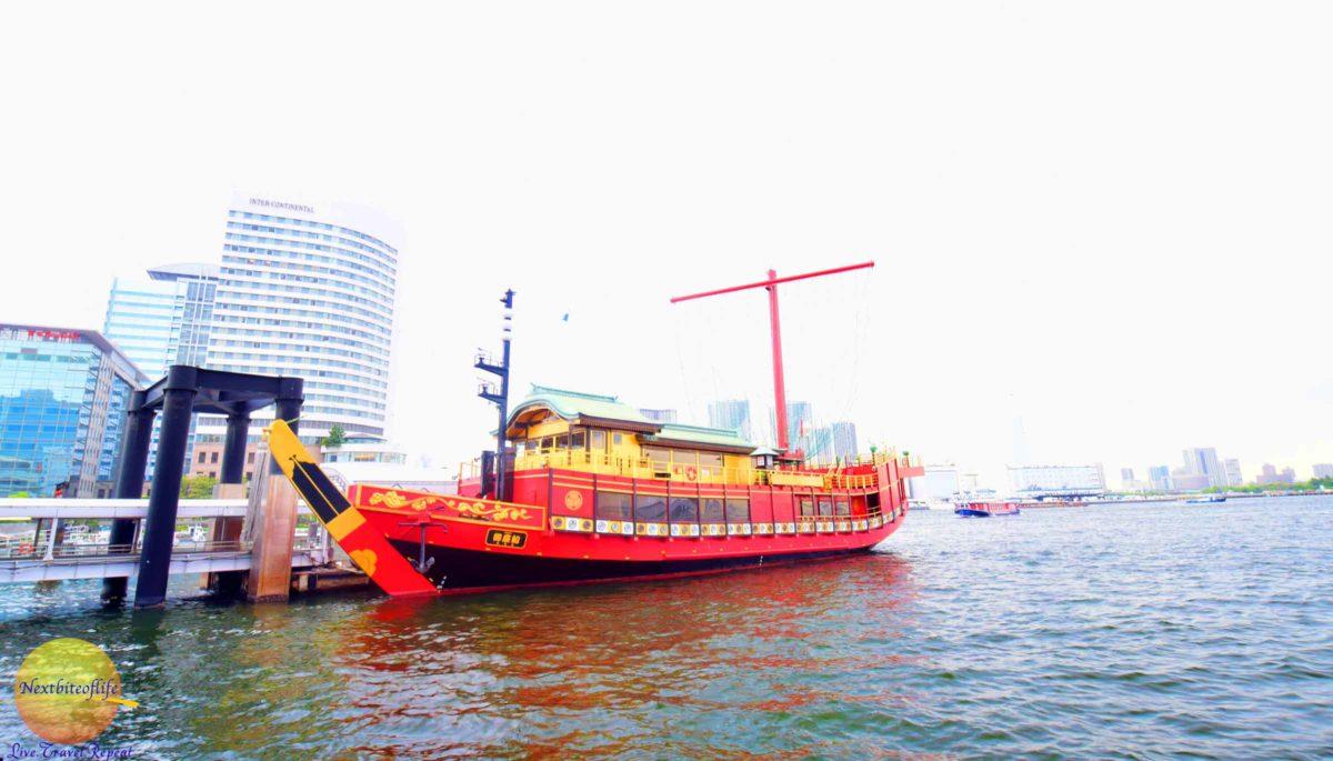boat in tokyo