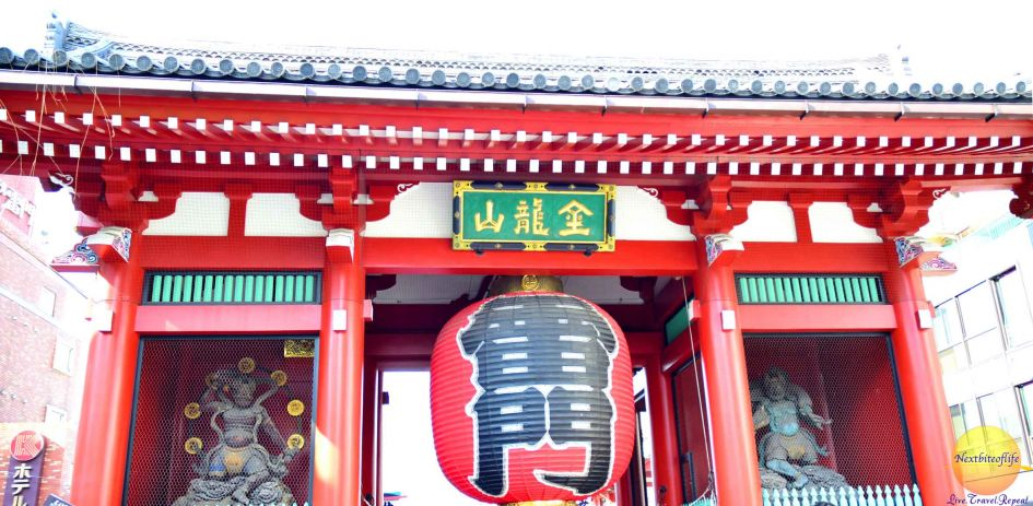 sensoji temple picture of thunder gate