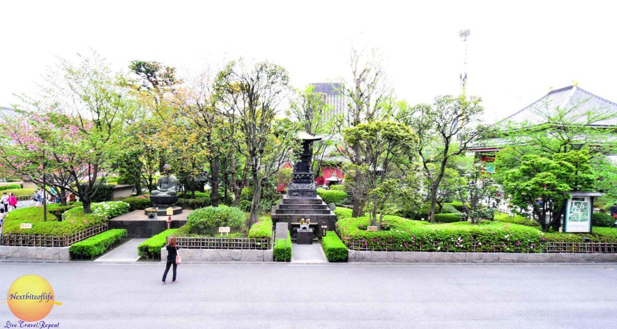 sensoji temple asakusa garden