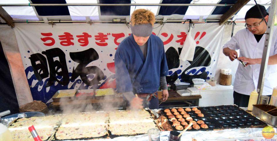 foodies in japan takoyaki