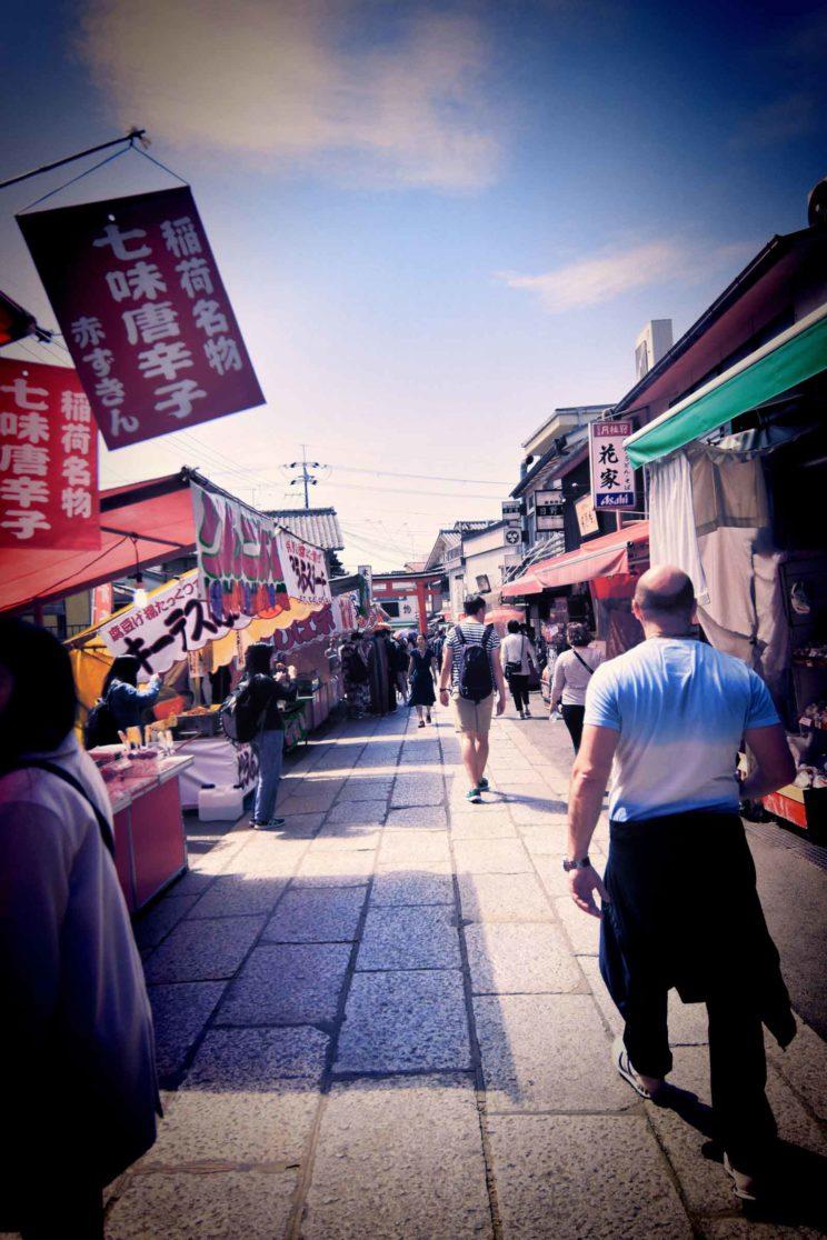 tokyo street food stalls