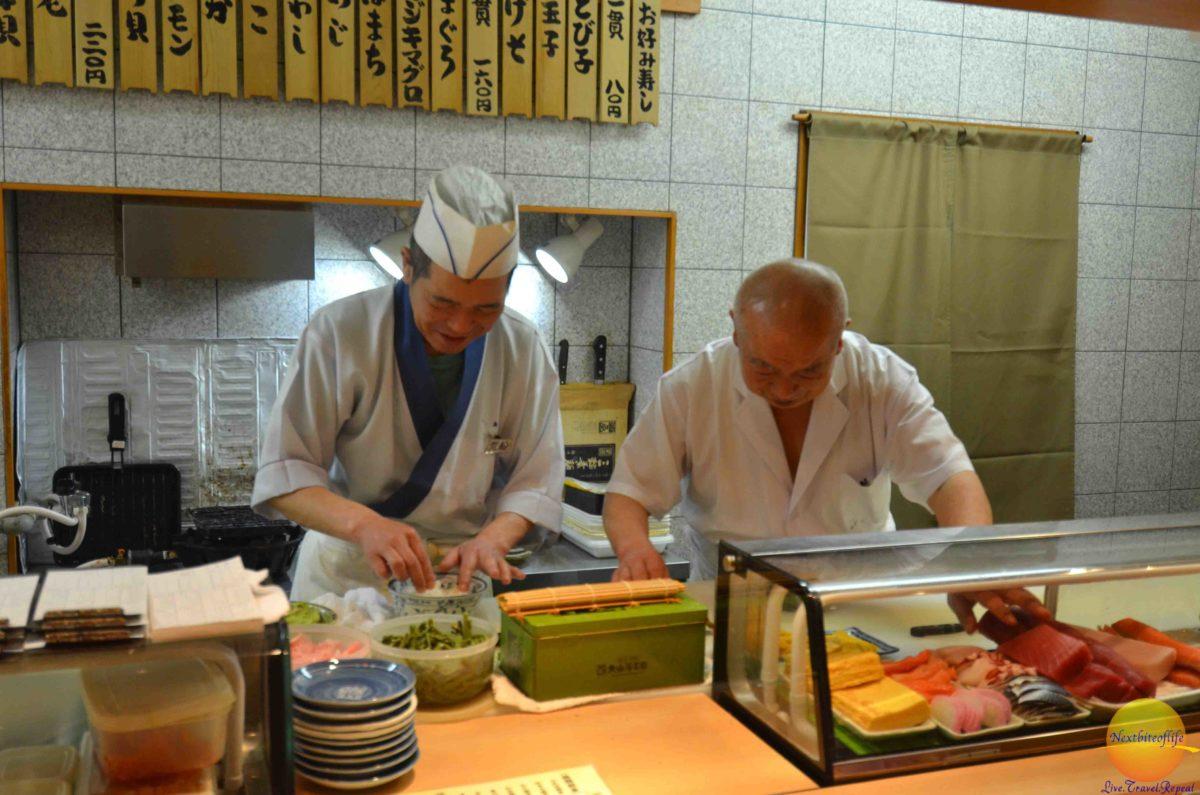 foodies in japan chefs