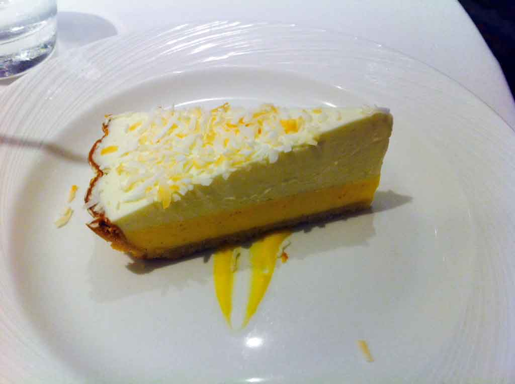 Lemon mouse cake l think this was.