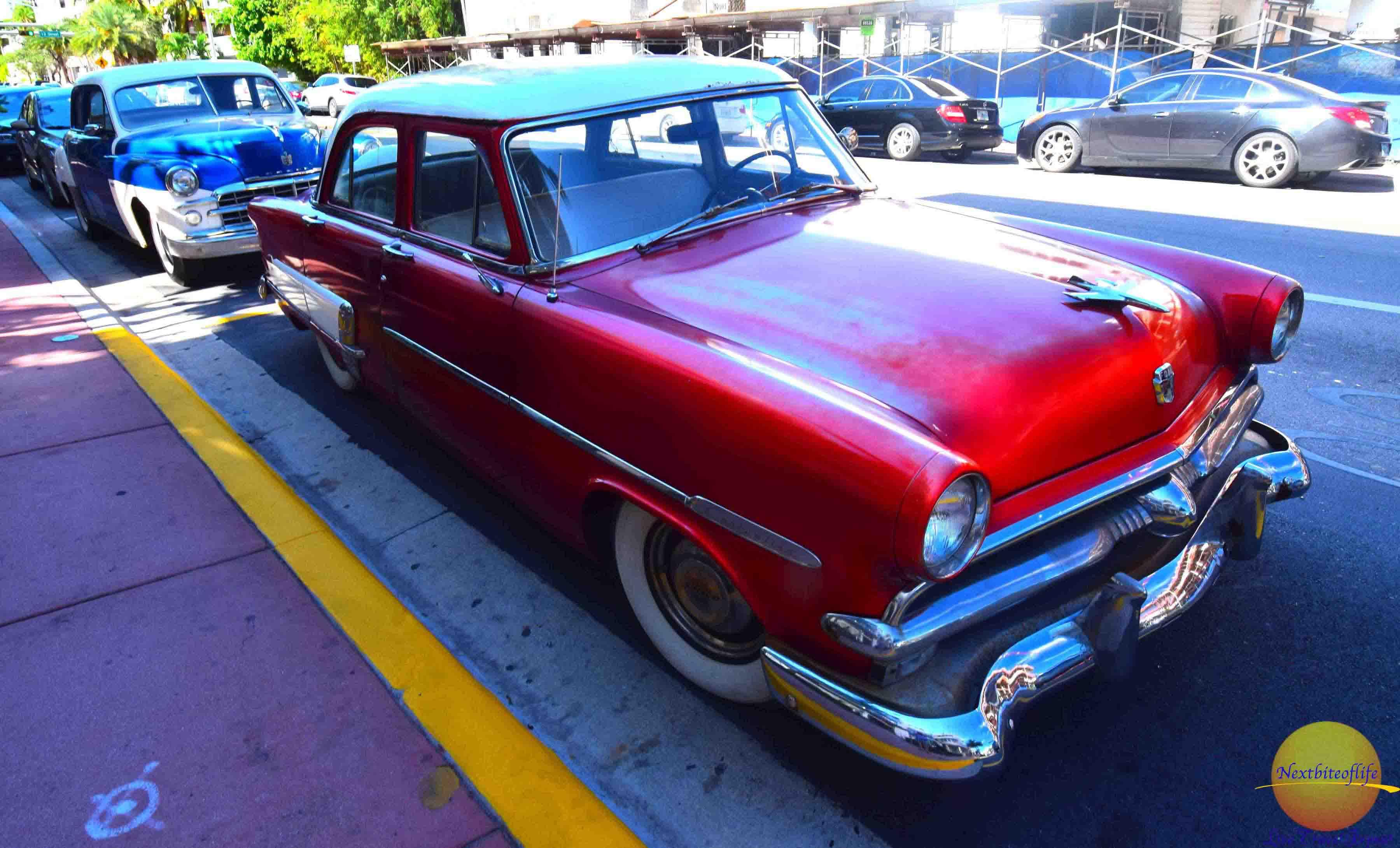 impressive miami highlights old car lincoln drive