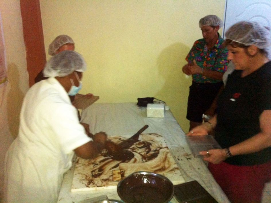 Chocolate making in the D.R.