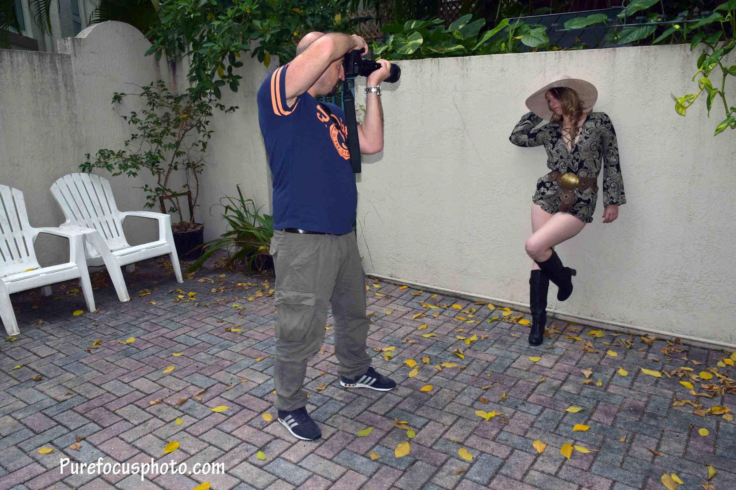 Shooting the shooter :-)