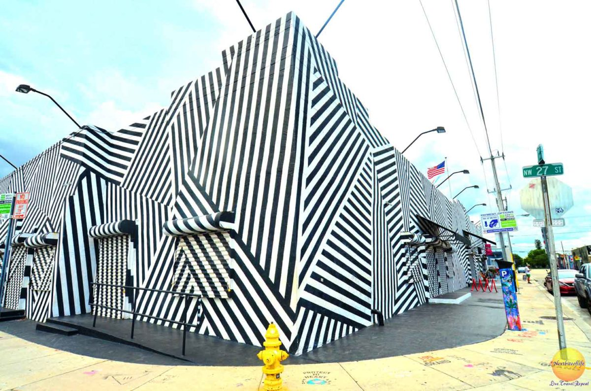 white and black covered building miami wynwood