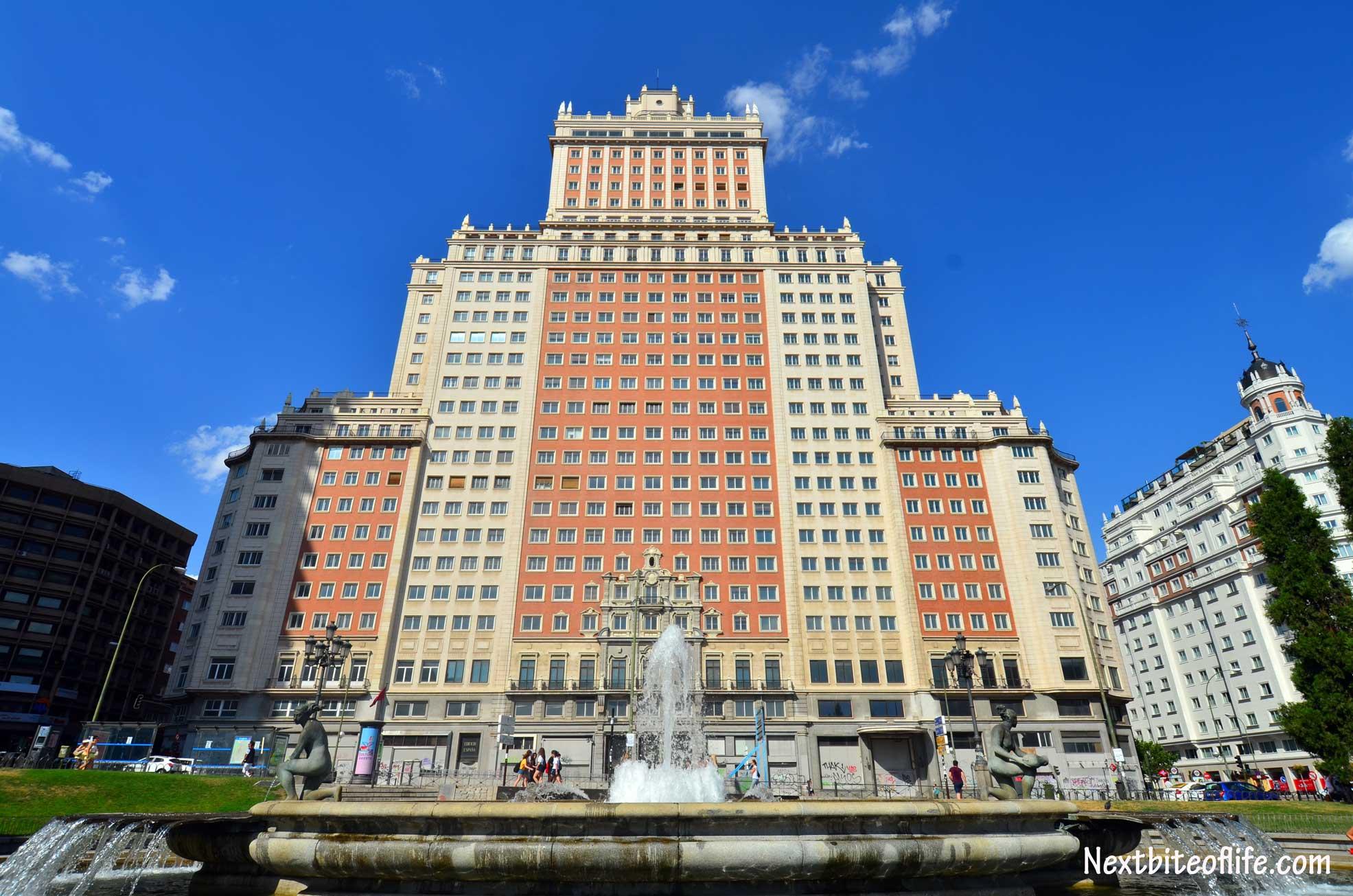 Plaza de Espana. You gotta love that building :-)