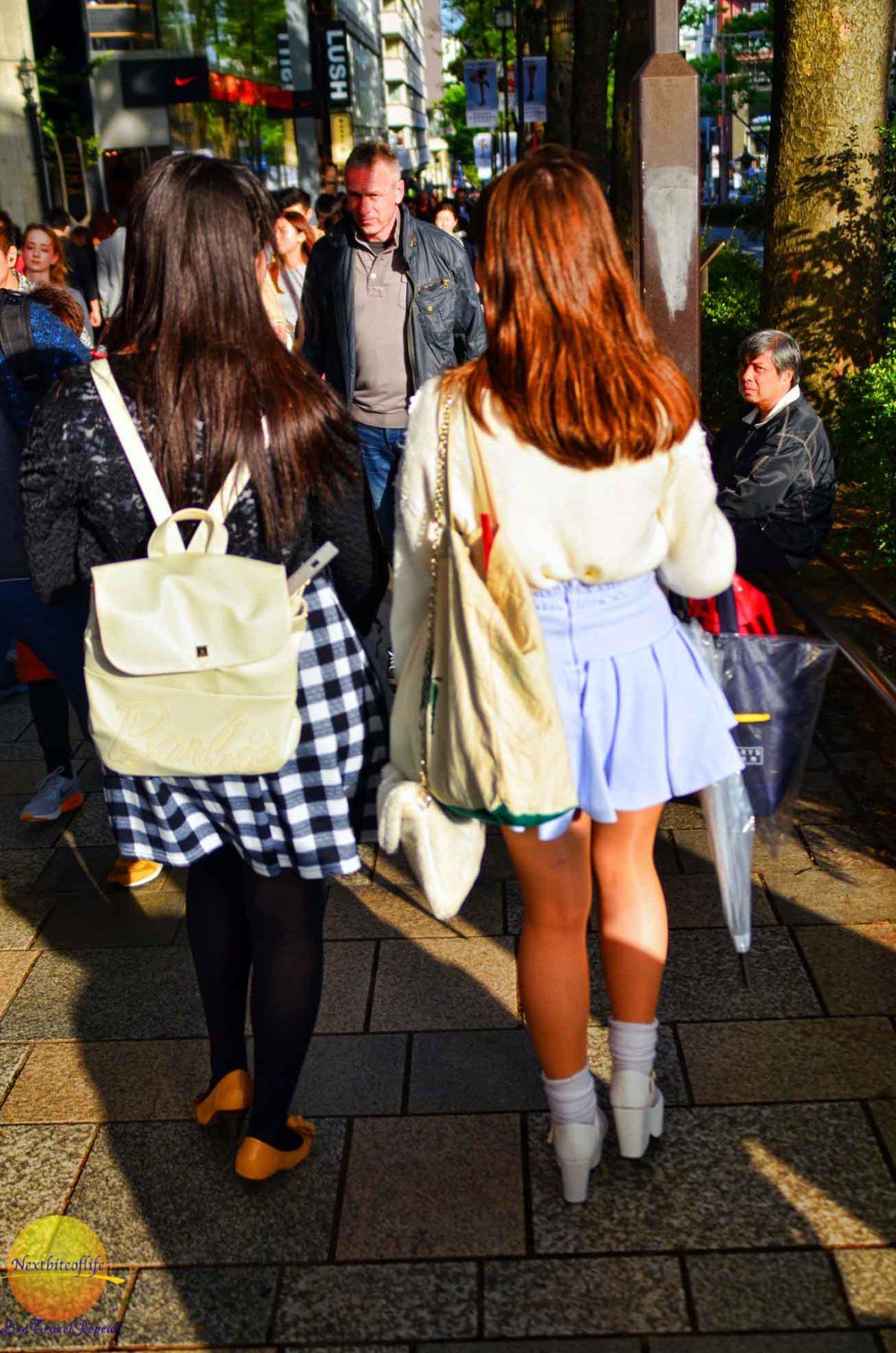 Harajuku girls enjoying their day. #tokyo #japan #harajuku #japan