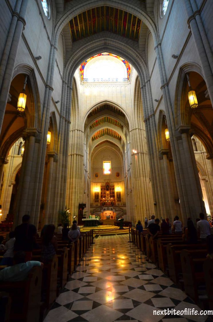 how to spend a day in madrid #madridcathedral #madrid #madriditinerary #spain #travel
