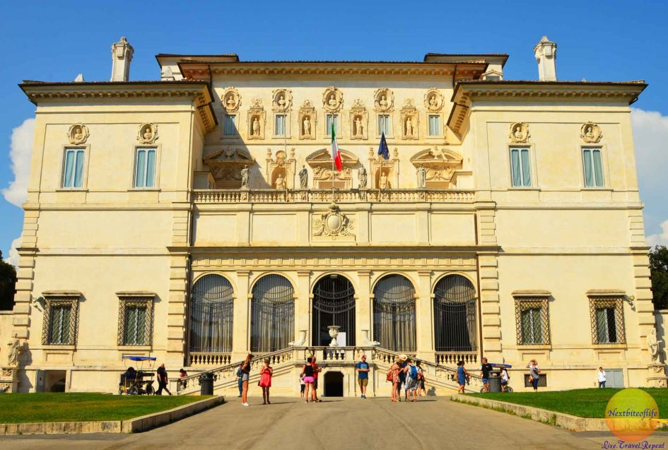 borghese gallery rome livitaly