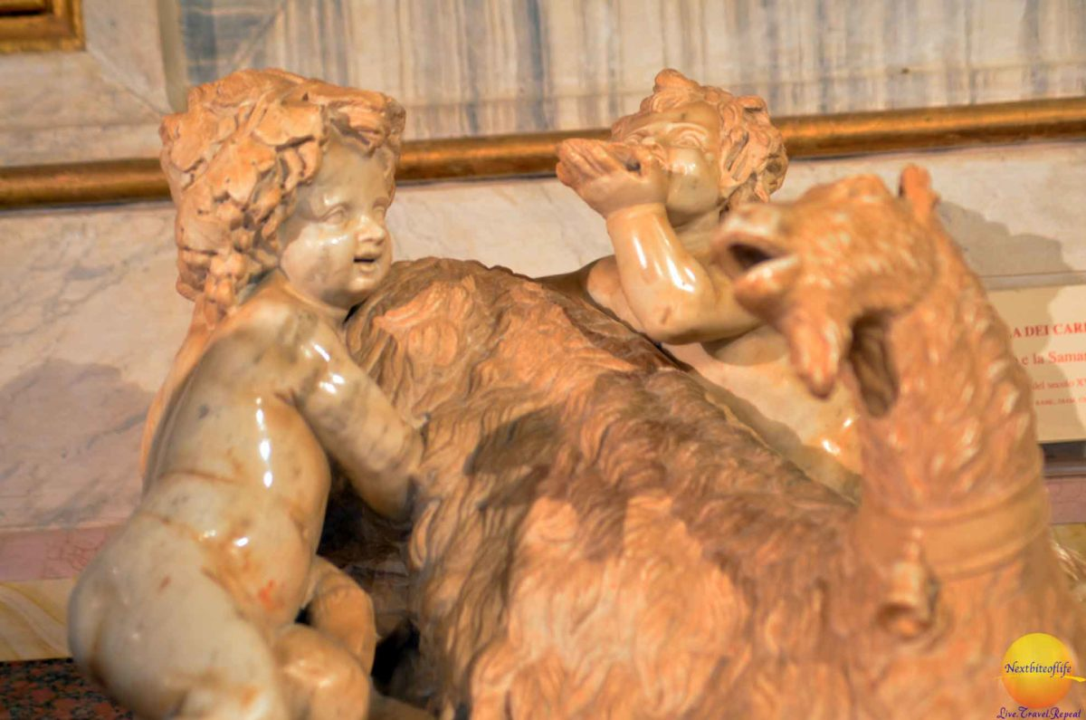 This is Bernini's work at the age of 11 or 12. Imagine that!