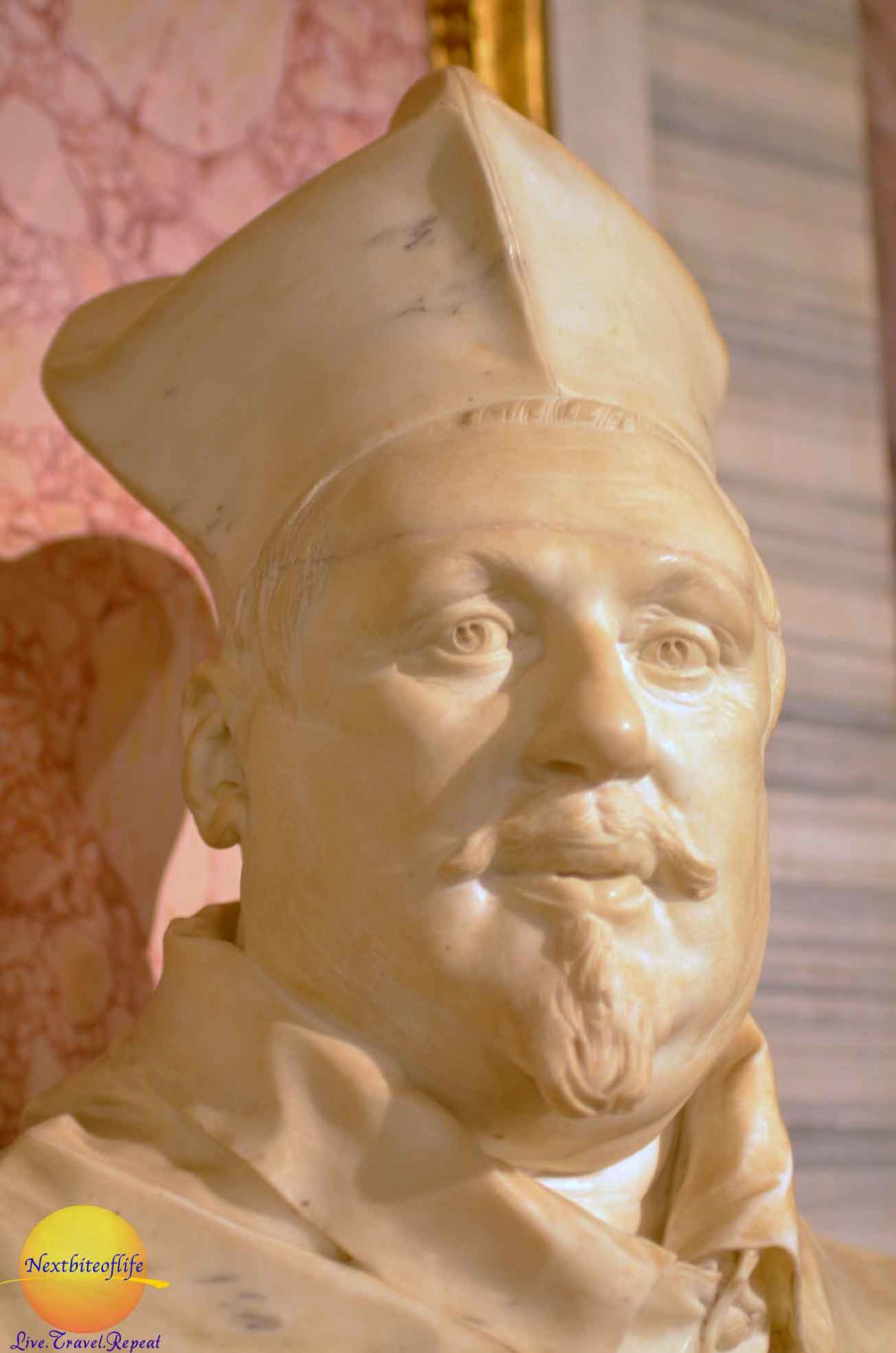 borghese gallery rome cardinal borghese bust