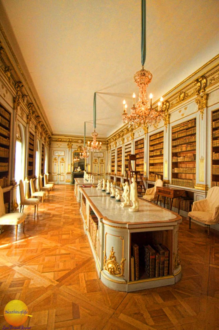 Nice! My dream library swedish palace drottingholm