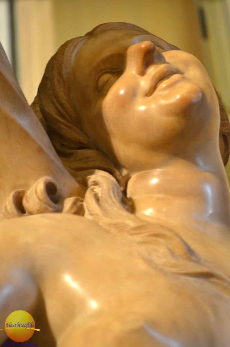 erotic sculpture at villa borghese rome