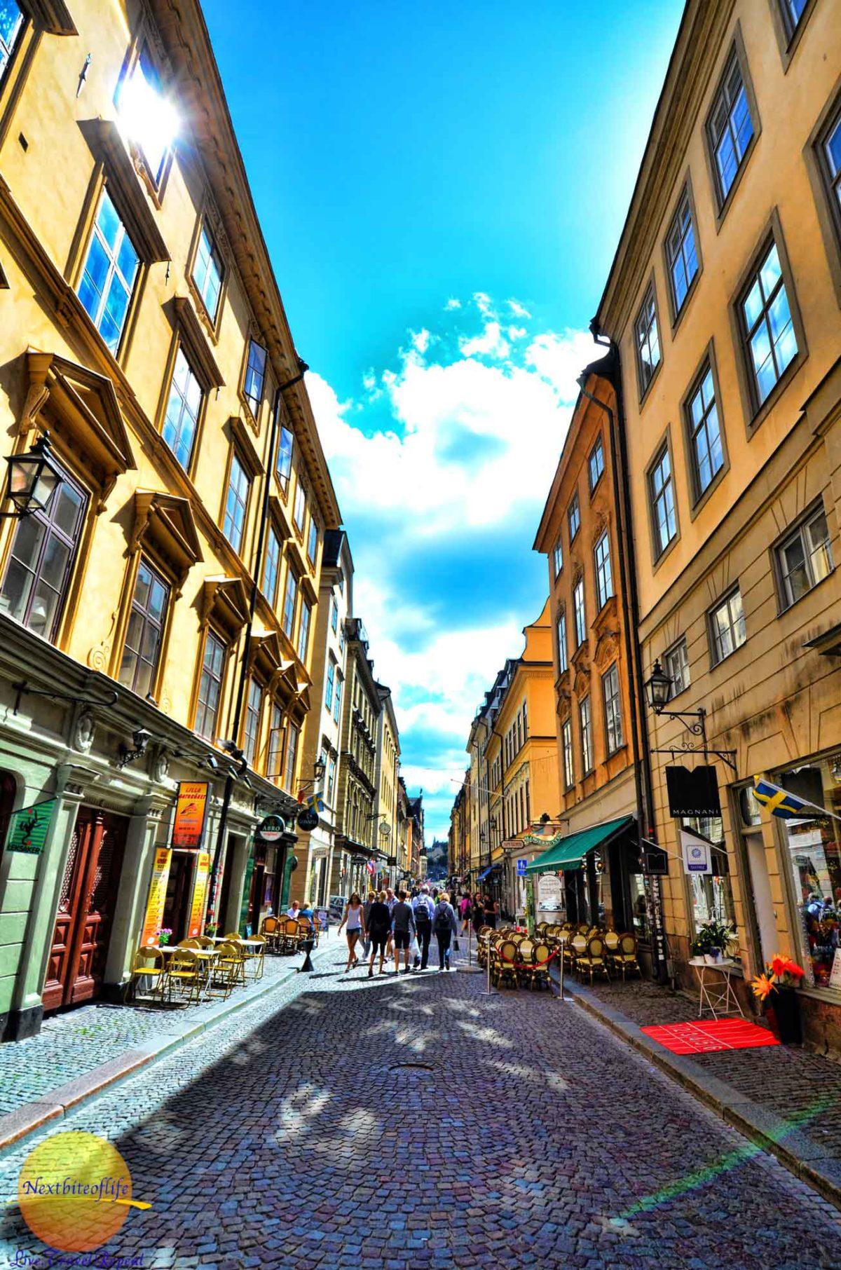 stockholm gamla stan pic