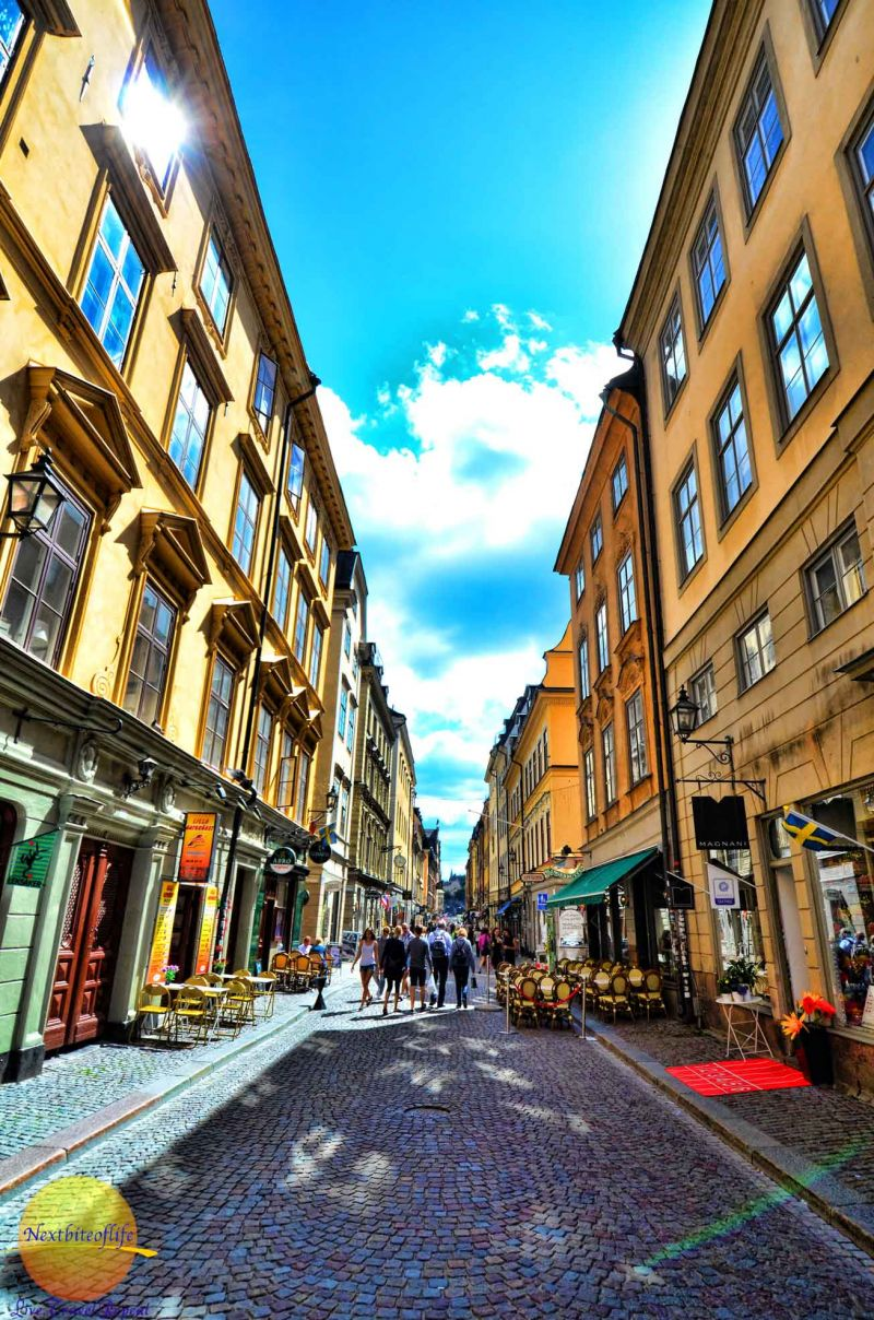 Stockholm guide to the best - must visit Gamla Stan center